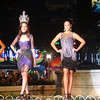 Ms Cebu 2011 Mia Zeeba Farridon and her courts during the Ms Cebu 2012 pre-pageant night at Fuente Osmena, Cebu City, Philippines. (Photo by Jean Mondonedo/Sunnex)