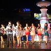 Presentation of Ms Cebu 2012 candidates at Fuente Osmena, Cebu City, Philippines. (Photo by Jean Mondonedo/Sunnex)