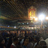 The Basilica Minore del Sto. Nino church just before the mass. (Photo by Tashuana Alemania/Sunnex)