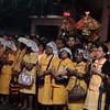 Members of the Cofradia del Sto. Nino led the foot procession Thursday, January 5, 2012 in Cebu City, Philippines. (Photo by Tashuana Alemania/Sunnex)