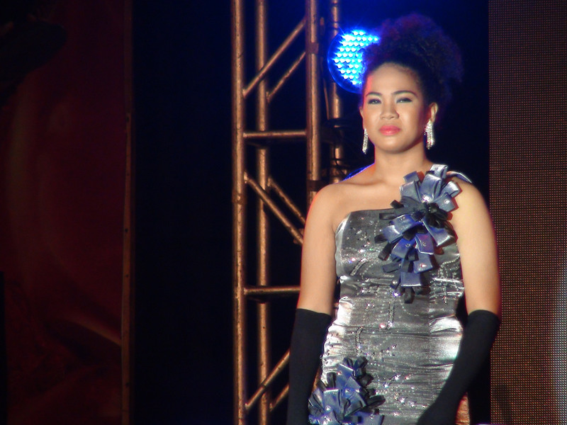 Sinulog Idol 2012 grand finalist Ashley Campbell. (Sunnex photo)