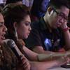 Sinulog Idol 2012 judges. (Sunnex photo)