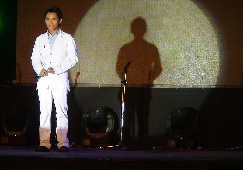 Sinulog Idol 2012 Second Runner-up Mark Vincent Seville. (Sunnex photo)