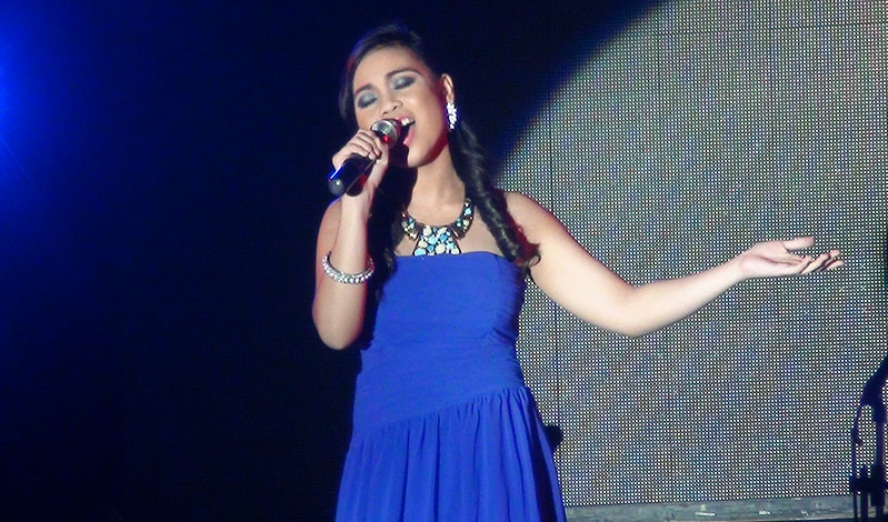 Sinulog Idol 2012 First Runner-up Danielle May Ozaraga. (Sunnex photo)