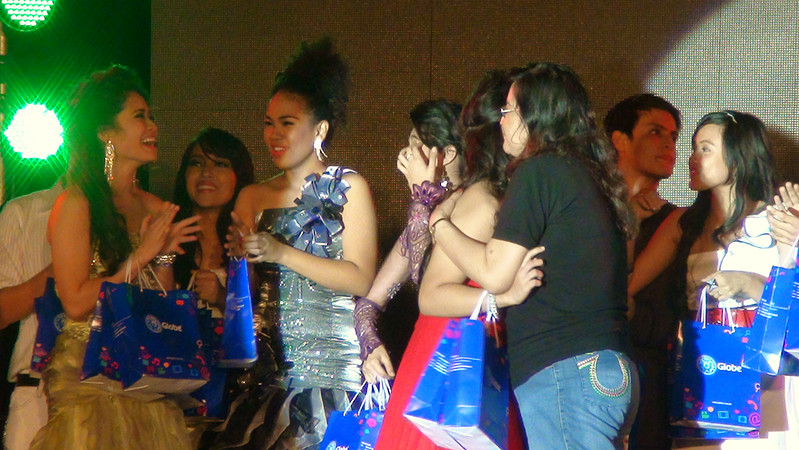 Sinulog Idol finalists during the announcement of winners. (Sunnex photo)