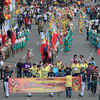 Officials of the Sinulog Foundation led the Sinulog 2013 launching parade Friday (January 11, 2013) from Basilica del Sto. Nino church to the Cebu City Sports Center. (Sun.Star Photo/Amper Campana)