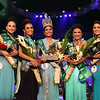 "Ms Cebu 2013 Namrata ""Neesh"" Murjani and her court during the Ms Cebu coronation night at the Waterfront Hotel and Casino. (Sunnex photo/Dave Tangarorang)"