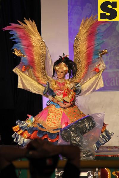 Sinulog Festival Queen 2013 candidate #9 Chloe Marie Harris, 17, of Silliman University, Dumaguete City