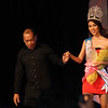 Miss Tourism International 2012 Rizzini Alexis Gomez was given a special citation during the Sinulog Festival Queen 2013 in Cebu City. She was escorted by Sinulog Foundation Inc. Executive Director Ricky Ballesteros. (Sunnex photo/Jean Mondonedo)