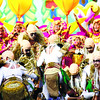 Tribu Lingganay of Alang-Alang, Leyte in their Sinulog 2013 repeat performance.