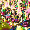 SARIMANOK.  Dancers of the Lanao del Norte contingent attract the crowd with their sarimanok headgear. (Sun.Star Photo/Allan Cuizon)