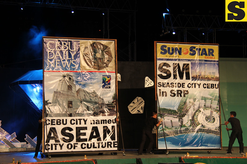 Sinulog 2013 Grand Finale. Cebu newspapers