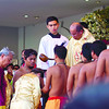 The reinactment of the first baptism in Cebu officiated by Rev. Fr. Jonas Mejares, Rector of Basdillica de santo Niño Church.<br /> foto: Alex Badayos