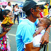 For all ages. Devotees joining the solemn procession 19Jan2013.                                                                             (SUNSTAR FOTO/ARNI ACLAO)
