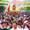 IMAGE OF STO, NINO PASS BY AT CARRETA DURING THE PROCESSION.<br /> <br /> SSDFOTO/ALLAN DEFENSPR