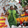 The annual fluvial procession kicked off from St. Joseph Parish Church in Mandaue City to Basilica Minore de Sto. Niño on January 18, 2014. (Nera Mariz Puyo/Sunnex)
