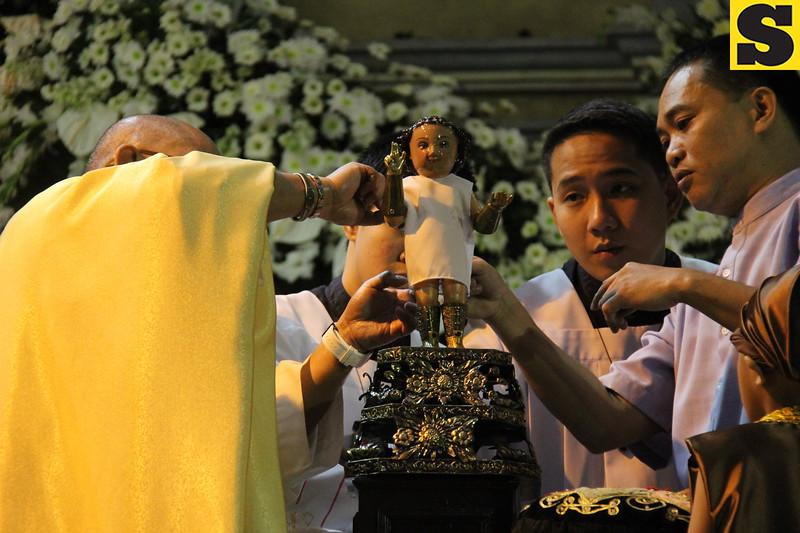 CEBU CITY. Thousands of devotees join the Hubo Mass at Basilica's Pilgrim Center to mark the end of the fiesta celebration of Señor Santo Niño on Friday, January 24, 2014. (Nera Mariz Puyo/Sunnex)