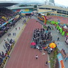 Aerial view of Sinulog 2014 grand parade. (Photo by Julius G. Neri)