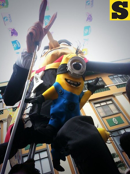 One of the minions.  (Photo by Jean Mondoñedo-Ynot)