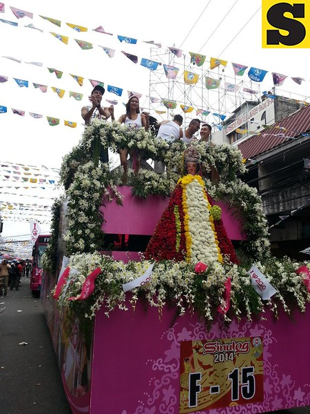 Princess of PBB and the Philippine Volcanoes onboard the 2Go Travel float.  (Photo by Jean Mondoñedo-Ynot)