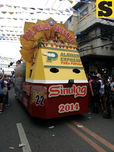 Palawan Express's float  (Photo by Jean Mondoñedo-Ynot)