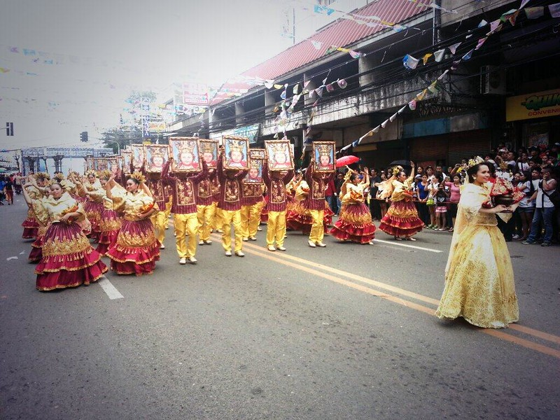 Contingent from Placer, Masbate  (Photo by Jean Mondoñedo-Ynot)