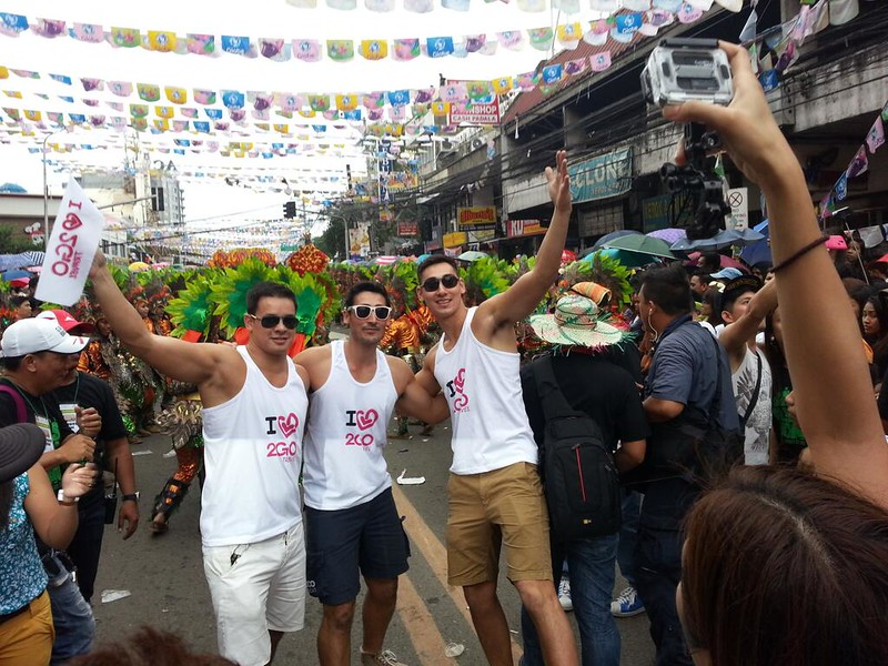 The Philippine Volcanoes join the Sinulog grand parade.  (Photo by Jean Mondoñedo-Ynot)