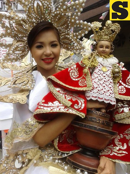 Tuburan's lead dancer was named as this year's Festival Queen. (Photo by Daryl D. Anunciado)