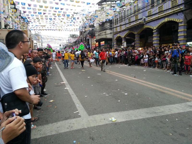 P. del Rosario St. in Cebu City around 5:30 p.m. Sunday, January 19,  2014.  (Photo by Jean Mondoñedo-Ynot)