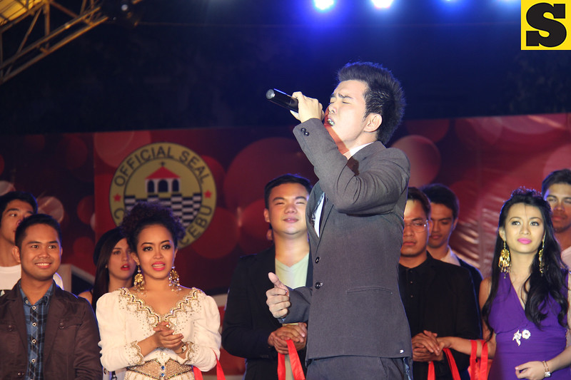 Sinulog Idol Season 5 grand champion Bryan Claudio Deiparine. (Photo by Daryl D. Anunciado)