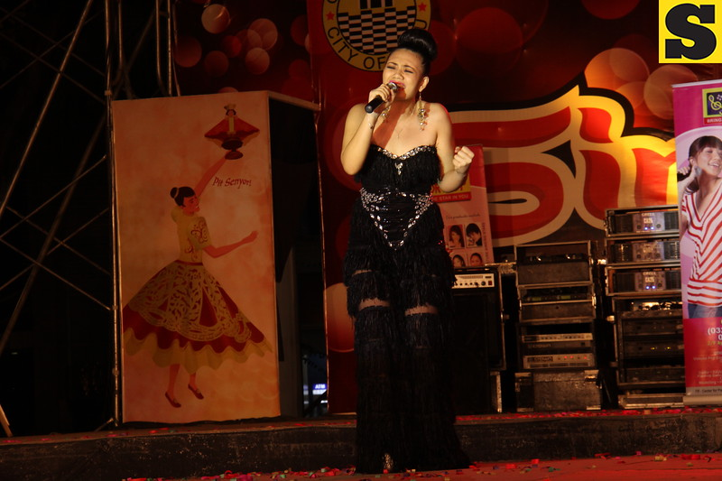 "Rayllyne ""Rai"" Alicaya - Sinulog Idol Season 5 second runner-up. (Photo by Daryl D. Anunciado of Sunnex)"
