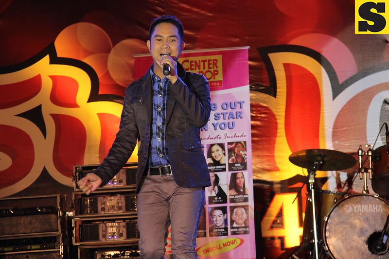 Sinulog Idol Season 5 finalist Michael Jay Morales. (Photo by Daryl D. Anunciado)