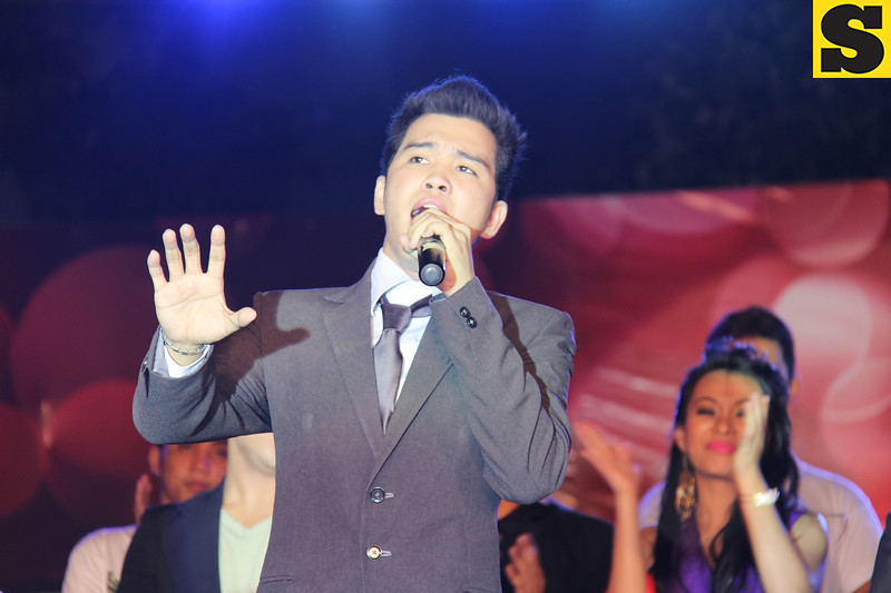 Sinulog Idol grand champion Bryan Claudio Deiparine. (Photo by Daryl D. Anunciado)
