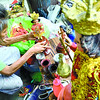 Fixing Sto. Nino figures for a living