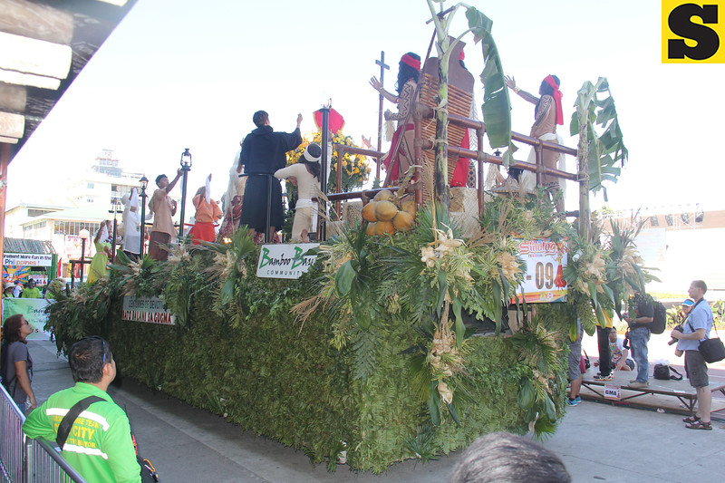Contempo Property Holdings float during Sinulog 2016