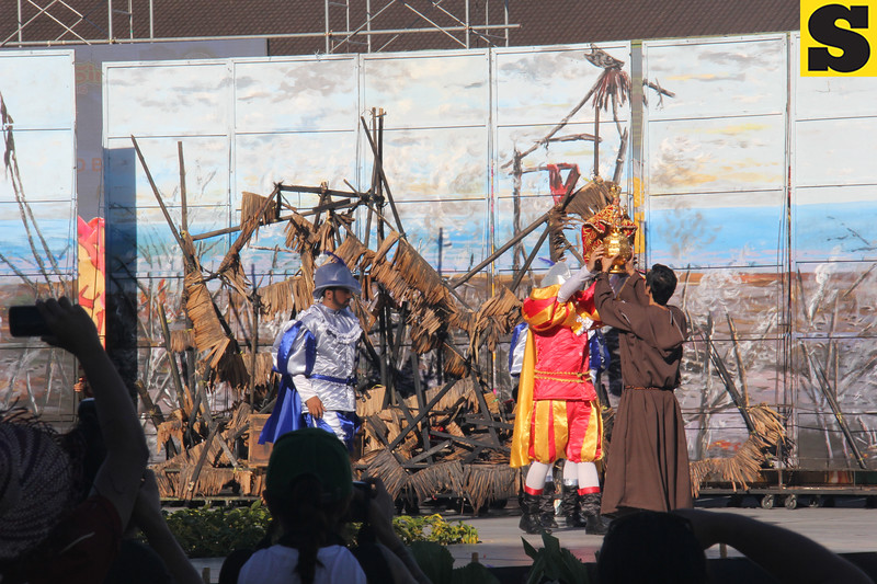 Lumad Basakanon performs during the Sinulog 2016 Grand Parade