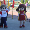 RC Goldline mascots during Sinulog 2016