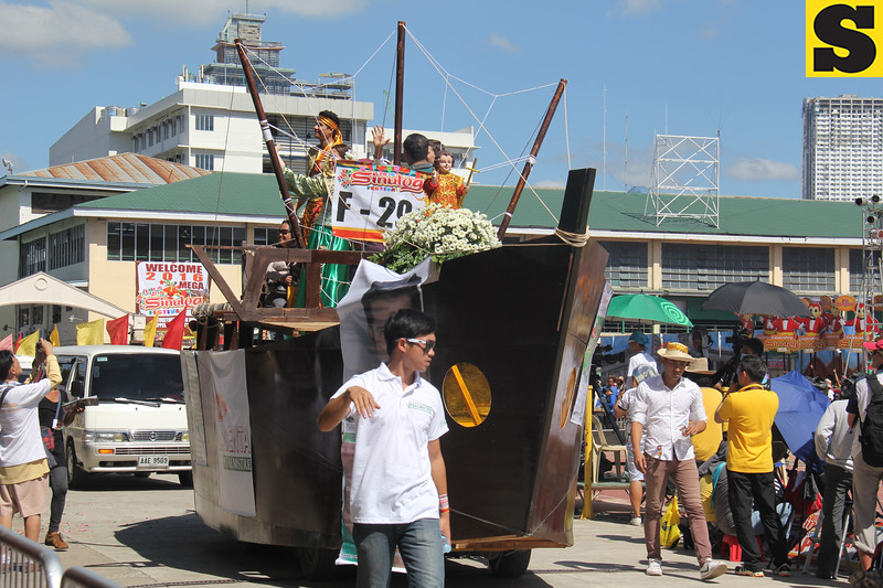 Psalmtre float during Sinulog 2016