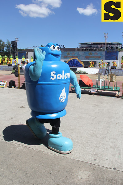 Solane LPG mascot during Sinulog 2016