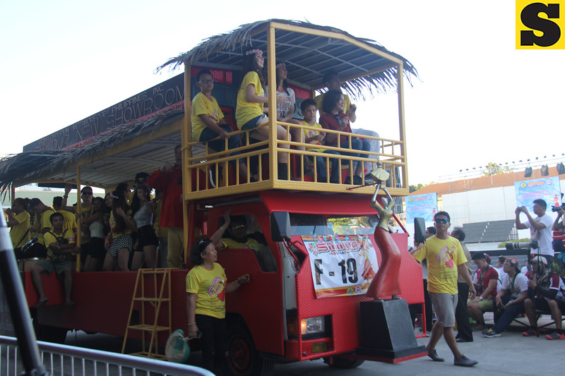 Hein Chrispijn Metamorfose Phils Inc float during Sinulog 2016