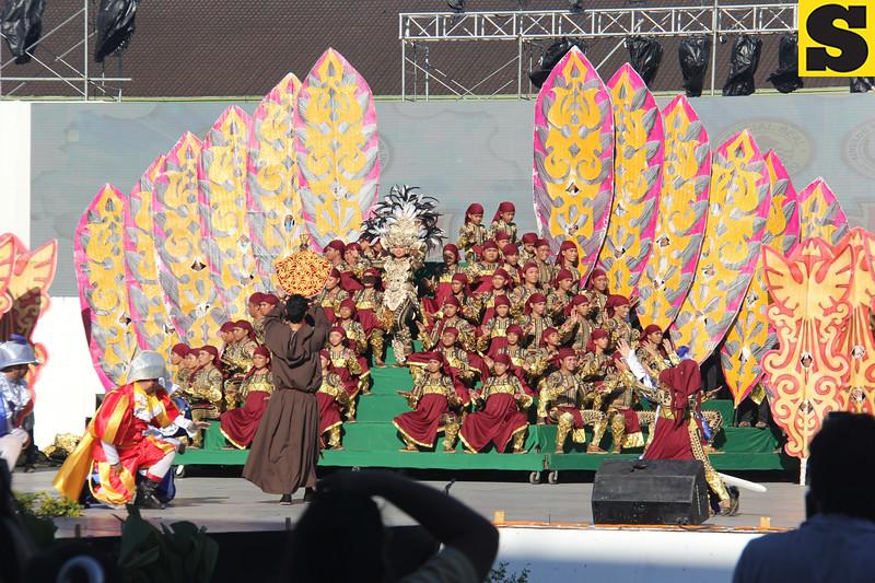 Lumad Basakanon performs during the Sinulog 2016 Grand Parade