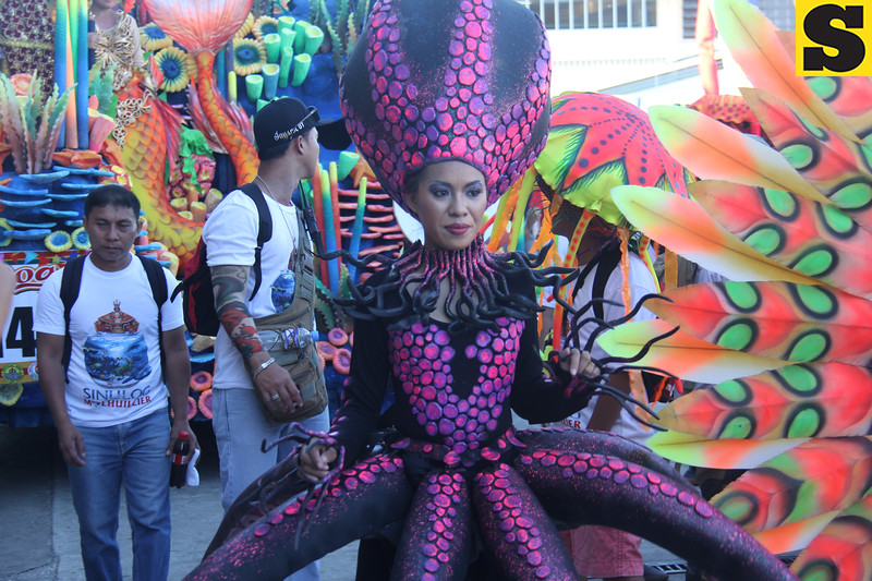 Sinulog Grand Parade 2016 costume
