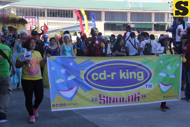 CDR King float during Sinulog 2016