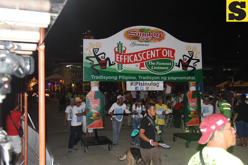 Efficascent Oil-IPI float during Sinulog 2016