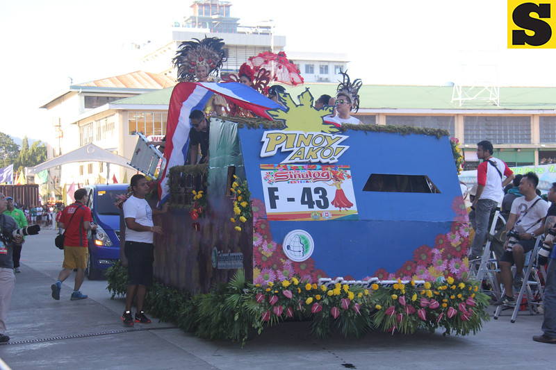 Teleperformance float during Sinulog 2016
