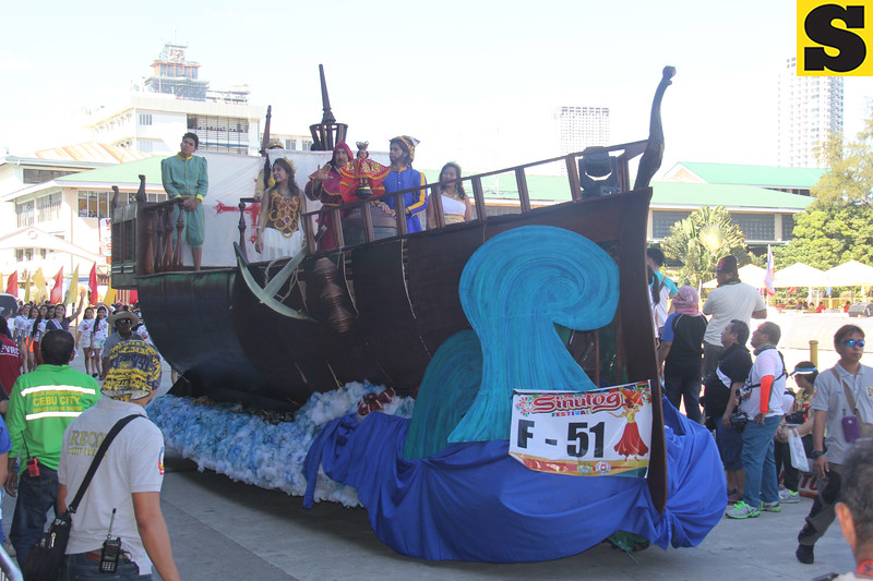 Another Team Ninos float during Sinulog 2016