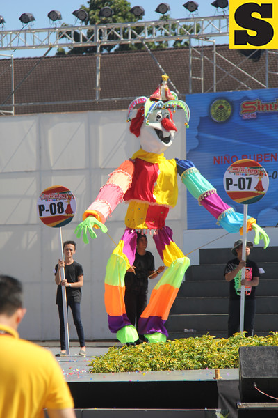 Nino Ruben Matteo puppet during Sinulog 2016