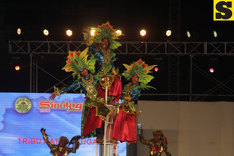 Tribu Katbalaugan of Catbalogan, Samar performs during Sinulog 2016