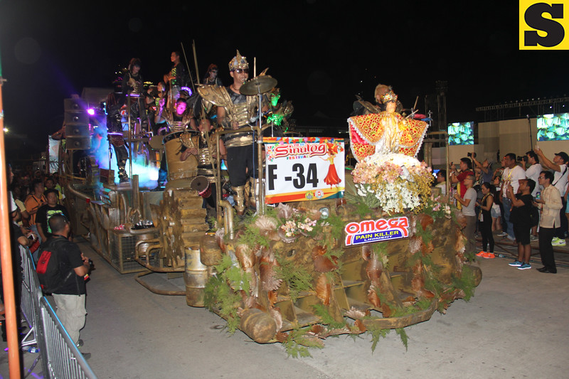 Omega Pain Killer-IPI float during Sinulog 2016
