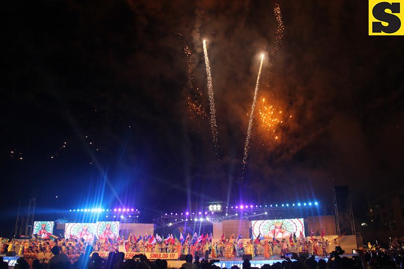Sinulog 2016 grand fireworks display